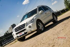 Прокат Mercedes-Benz ML на свадьбу 1