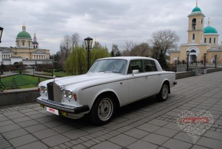 Прокат Rolls-Royce Silver Shadow на свадьбу