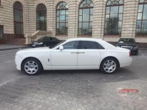 Прокат Rolls-Royce Ghost на свадьбу 0