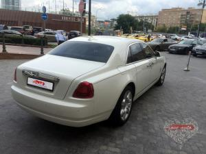 Прокат Rolls-Royce Ghost на свадьбу 4