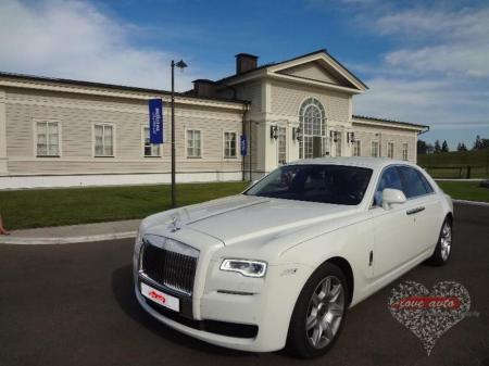 Прокат Rolls-Royce Ghost на свадьбу