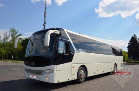 Прокат Автобус Golden Dragon на свадьбу