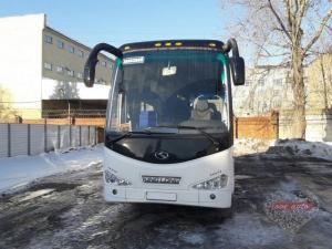 Прокат Автобус King Long на свадьбу 3