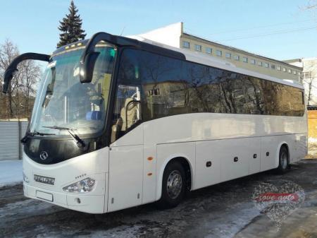 Прокат Автобус King Long на свадьбу