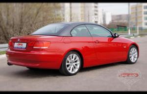 Прокат Кабриолет BMW 3 на свадьбу 4