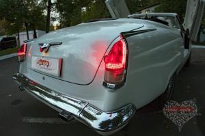 Прокат ГАЗ-21 Волга Кабриолет на свадьбу 0