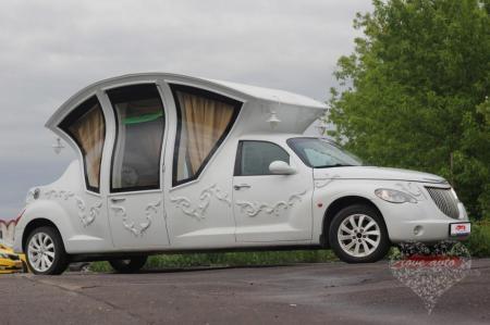 Прокат Chrysler PT cruiser на свадьбу