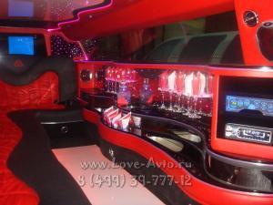 Прокат Лимузин Chrysler 300C на свадьбу 2