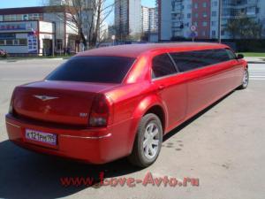 Прокат Лимузин Chrysler 300C на свадьбу 4