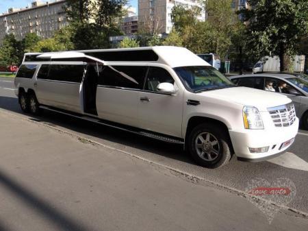 Прокат Лимузин Cadillac Escalade 3 на свадьбу