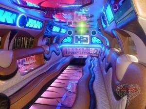 Прокат Лимузин Hummer H2 высокая крыша на свадьбу 1