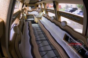 Прокат Лимузин Hummer H2 Mega 30 мест, крыша в полный рост на свадьбу 3