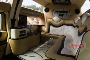 Прокат Лимузин Hummer H2 Mega 30 мест, крыша в полный рост на свадьбу 4