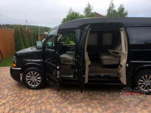 Прокат Минивэн Chevrolet Express на свадьбу 7