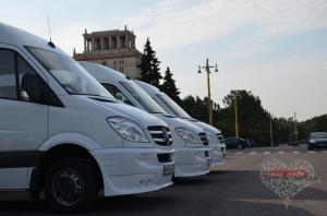 Прокат Микроавтобус Mercedes-Benz Sprinter на свадьбу 3