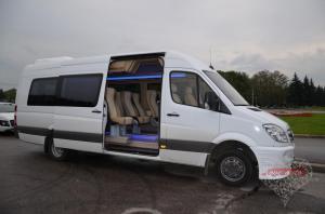 Прокат Микроавтобус Mercedes-Benz Sprinter на свадьбу 0