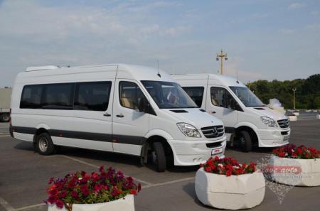 Прокат Микроавтобус Mercedes-Benz Sprinter на свадьбу