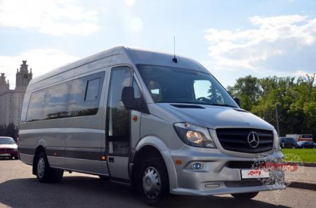 Прокат Микроавтобус Mercedes-Benz Sprinter NEW на свадьбу