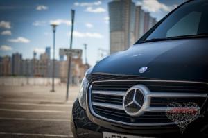 Прокат Микроавтобус Mercedes-Benz V-class NEW на свадьбу 1