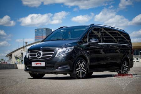Прокат Микроавтобус Mercedes-Benz V-class NEW на свадьбу