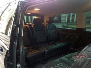 Прокат Микроавтобус Mercedes-Benz Vito NEW на свадьбу 0