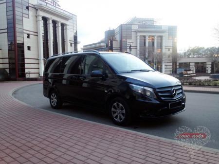 Прокат Микроавтобус Mercedes-Benz Vito NEW на свадьбу