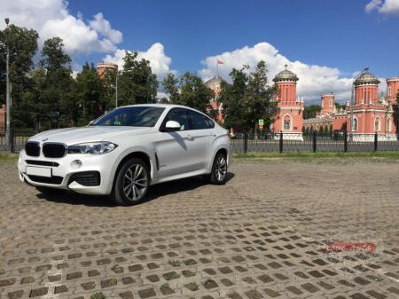 Прокат BMW X6 NEW на свадьбу