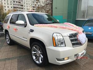 Прокат Cadillac Escalade 3 Platinum на свадьбу 5