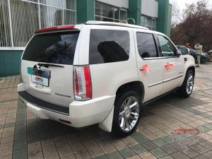Прокат Cadillac Escalade 3 Platinum на свадьбу 4