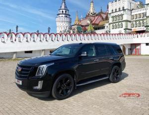Прокат Cadillac Escalade NEW 2020 на свадьбу 1
