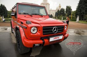Прокат Mercedes-Benz Gelandewagen на свадьбу 5