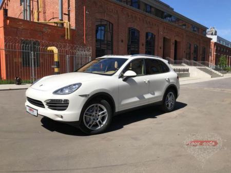 Прокат Porsche Cayenne NEW на свадьбу