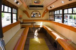 Прокат Микроавтобус Party Bus Ford  на свадьбу 1