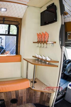 Прокат Микроавтобус Party Bus Ford  на свадьбу 2