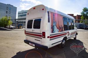 Прокат Микроавтобус Party Bus  Dodge на свадьбу 4