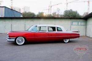 Прокат Cadillac Fleetwood Brougham на свадьбу 1