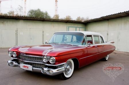 Прокат Cadillac Fleetwood Brougham на свадьбу