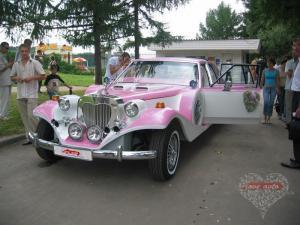 Прокат Лимузин Excalibur Phantom на свадьбу 1