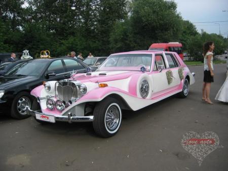 Прокат Лимузин Excalibur Phantom на свадьбу