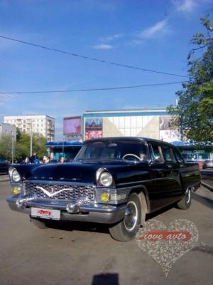 Прокат ГАЗ-13 Чайка на свадьбу 0