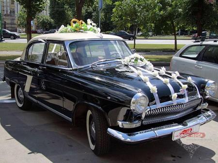 Прокат ГАЗ-21 Волга на свадьбу