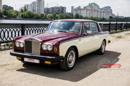 Прокат Rolls-Royce Silver Shadow на свадьбу