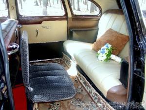 Прокат ЗИМ ГАЗ-12 на свадьбу 2