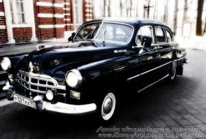 Прокат ЗИМ ГАЗ-12 на свадьбу 6