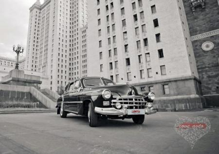 Прокат ЗИМ ГАЗ-12 на свадьбу