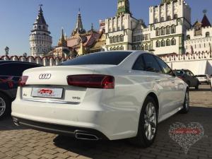 Прокат Audi A6 NEW на свадьбу 0