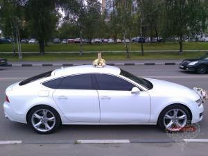 Прокат Audi A7 на свадьбу 0