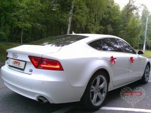 Прокат Audi A7 на свадьбу 4