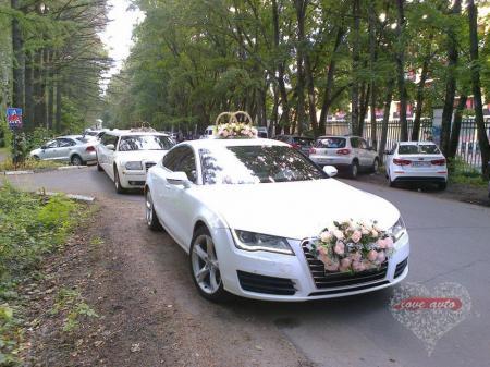Прокат Audi A7 на свадьбу