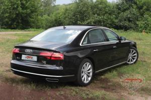 Прокат Audi A8 Long на свадьбу 1